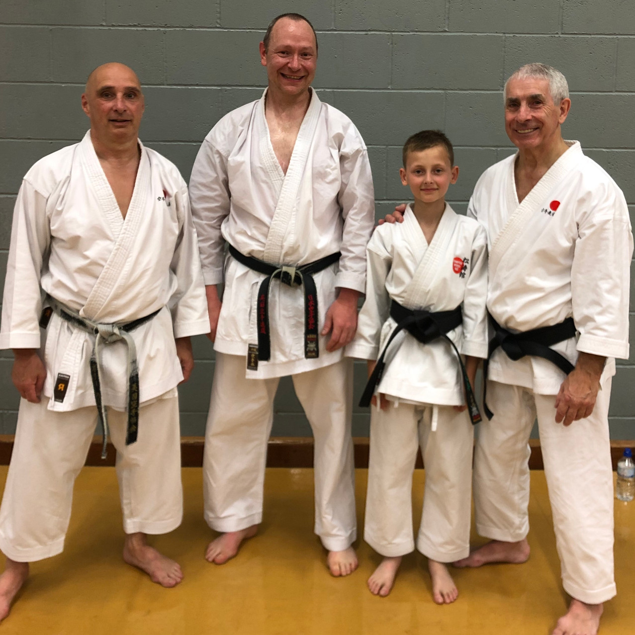 Scott Watson and JAck Law on B&B Course - 2nd June 2019