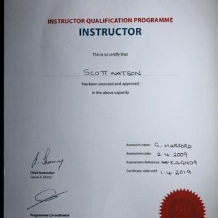 Instructor Qualification