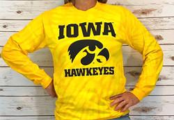Iowa Hawkeyes long sleeve t-shirt