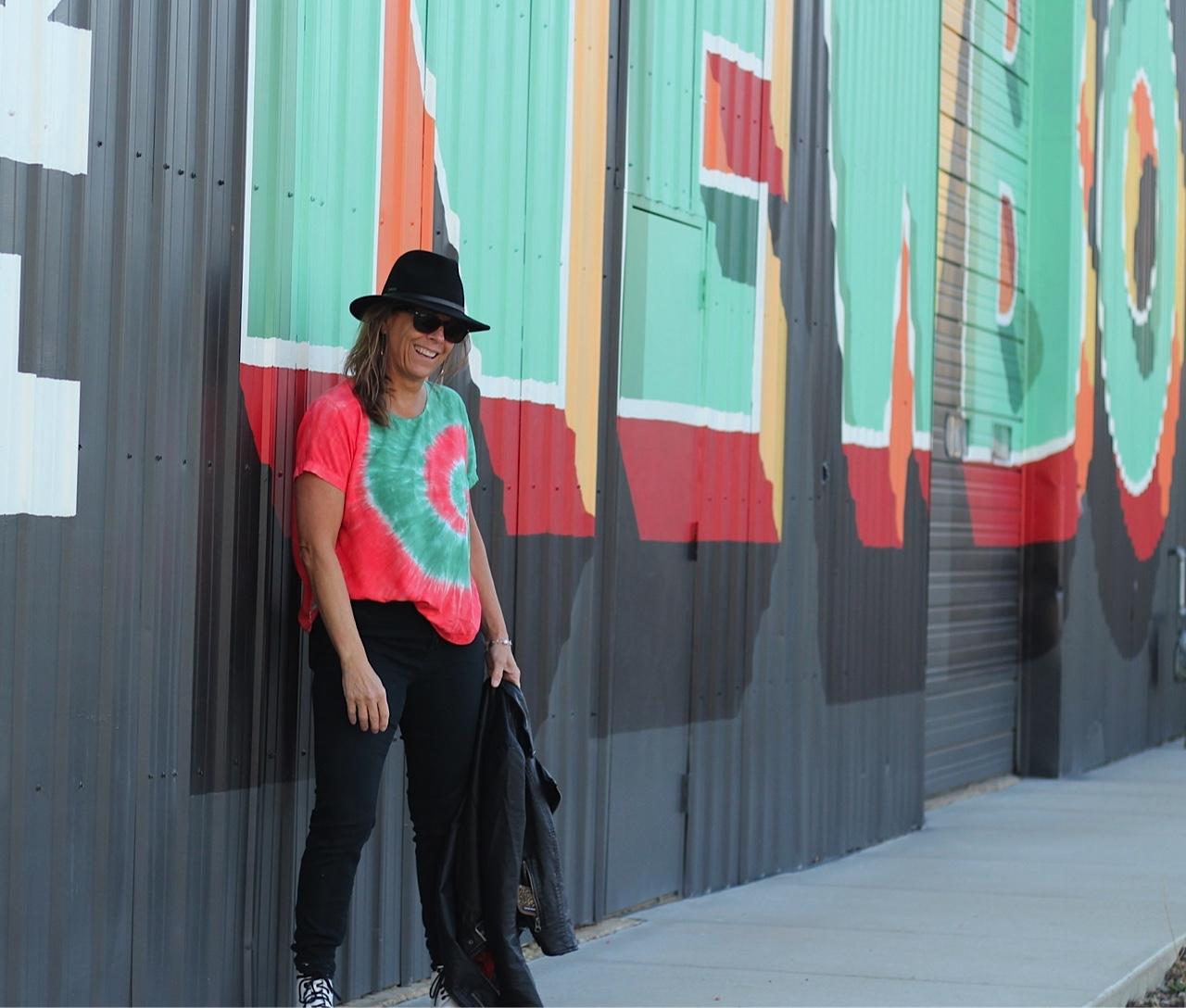 Hi-Lo short sleeve t-shirt in rayon