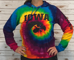 Rainbow Iowa Hawkeyes sweatshirt