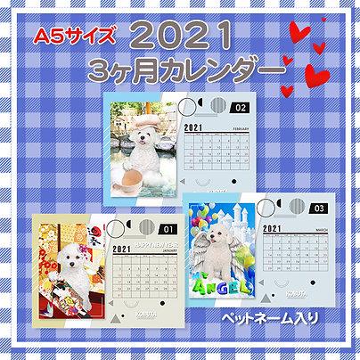 Mypet3ヶ月カレンダー