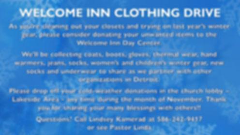 WELCOME INN CLOTHING DRIVE.jpg
