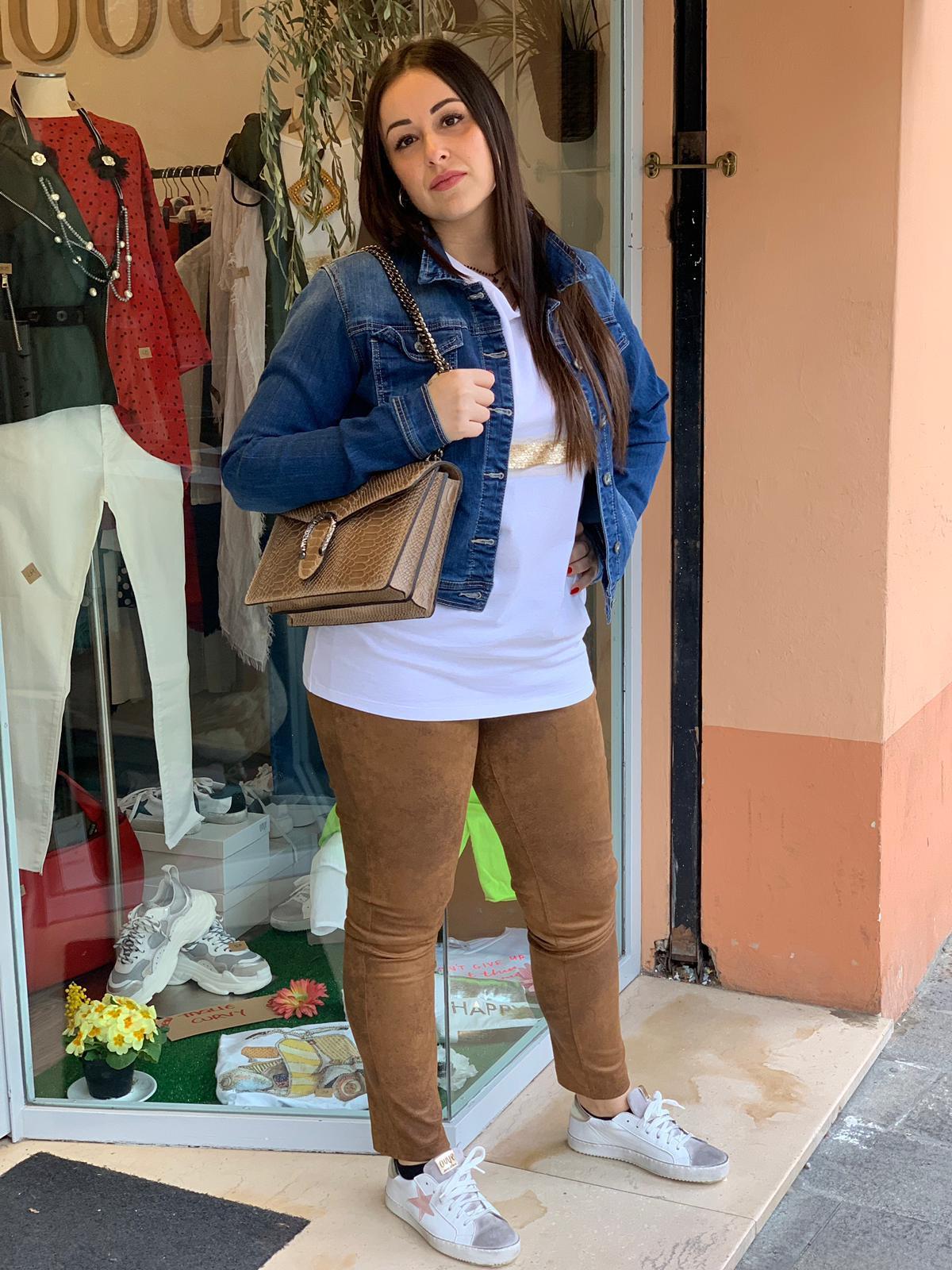the best attitude 6db42 11349 giacchino di jeans