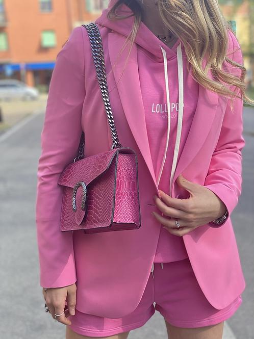 Giacca rosa kontatto