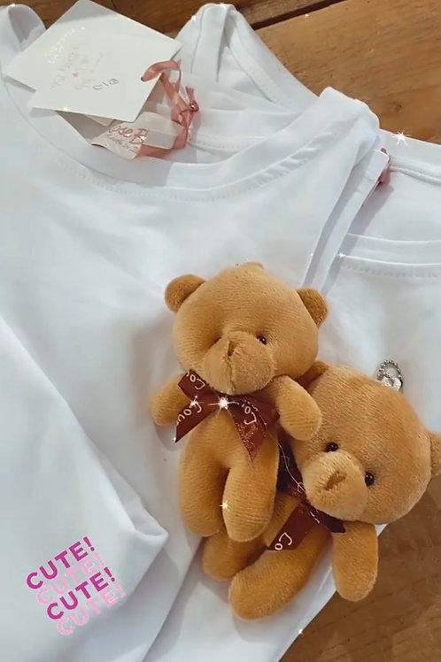 T-shirt spilla pupazzo
