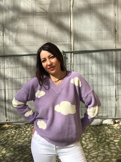 Maglione nuvola vicolo -2 colori