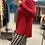 Thumbnail: Maglione rosso vestibilità morbida