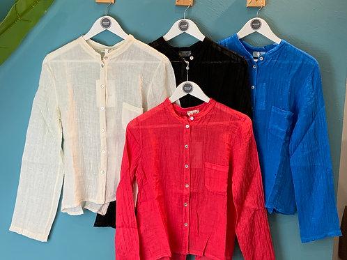 Camicia Lino Susymix - 4 colori