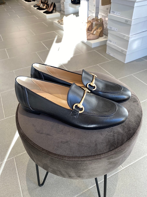 Mocassino simil Gucci nero