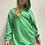 Thumbnail: Felpa lunga con elastico  tasche - 3 colori