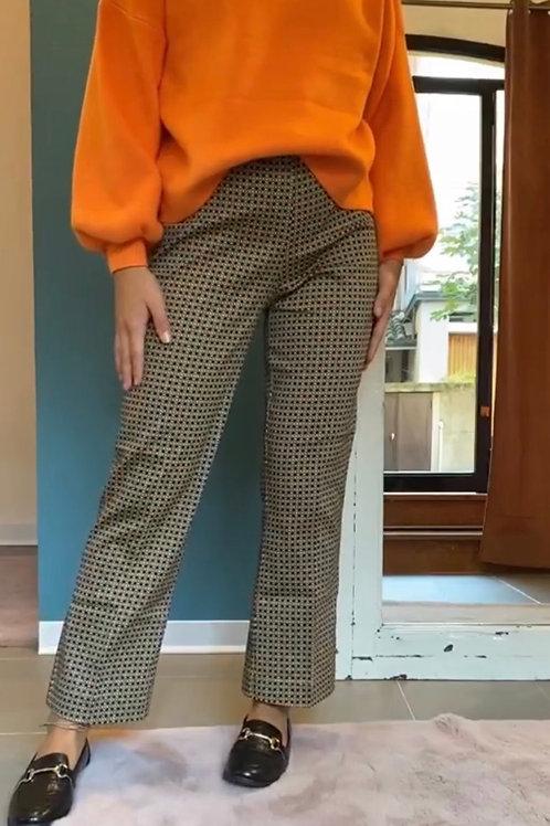 Pantaloni Ragno cotone