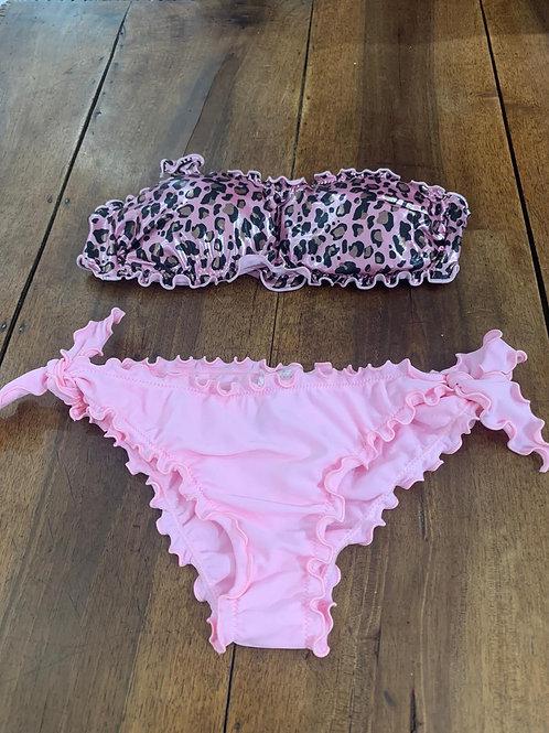 Costume leopardato rosa