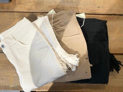 Jeans sfrangiato - 3 colori