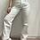 Thumbnail: Jeans bianco risvolto e strappi