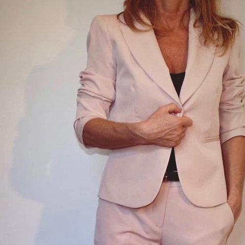 giacca elegante con bottone