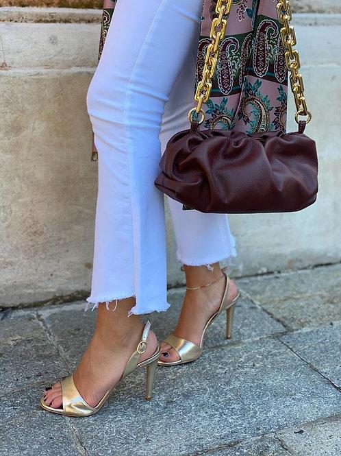 Pochette catena Bottega veneta inspired