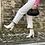 Thumbnail: Jeans bianco risvolto e strappi - n. 19