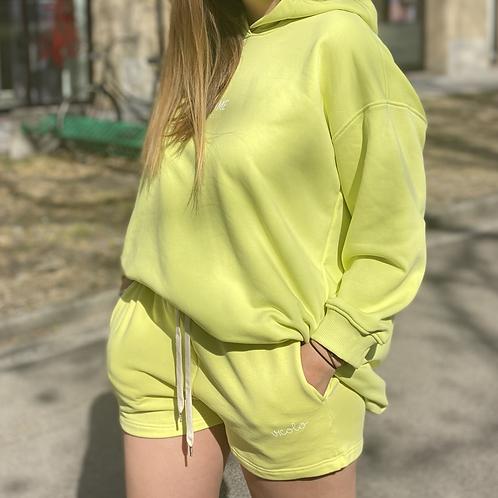 Short  felpa - 2 colori