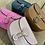 Thumbnail: Borsa cocco in pelle con tracolla - 4 colori