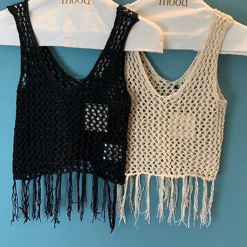 Top crochet VICOLO- 2 colori