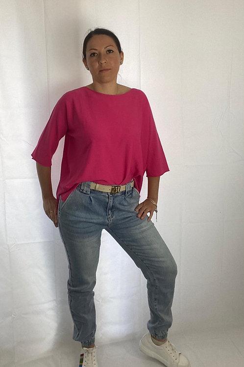 Jeans elastico in fondo - You decide