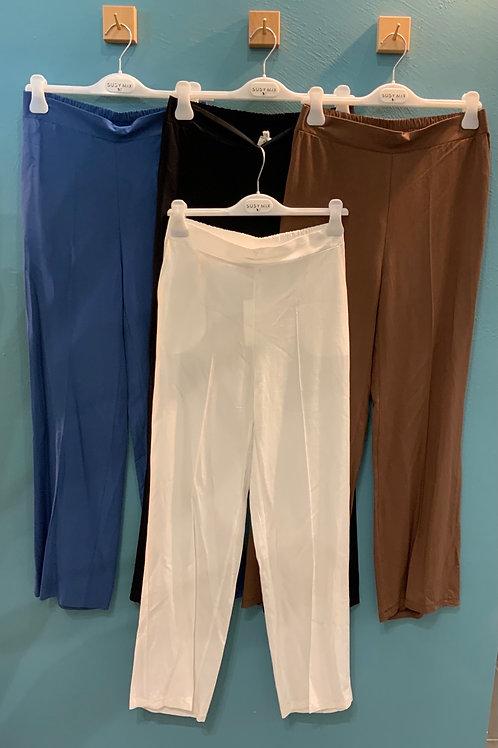 Pantaloni Lino - 4 colori