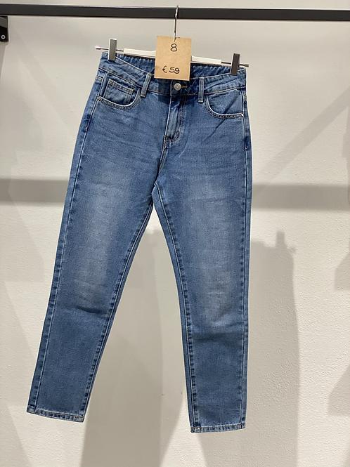 Jeans boy-friend elasticizzato n. 8