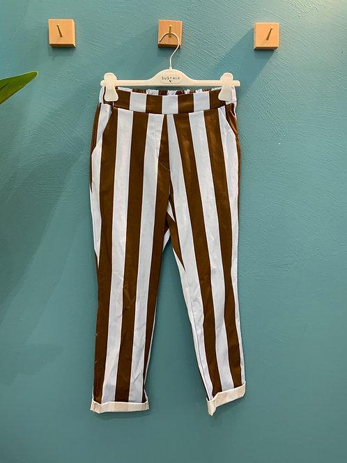 Pantaloni rigati