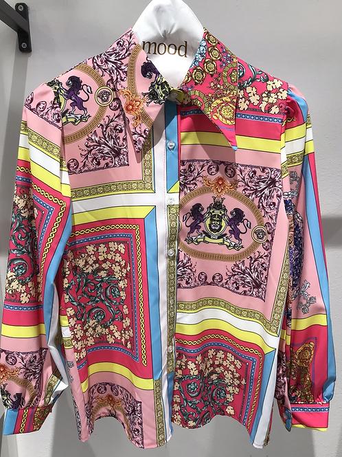 Camicia fantasia simil Versace