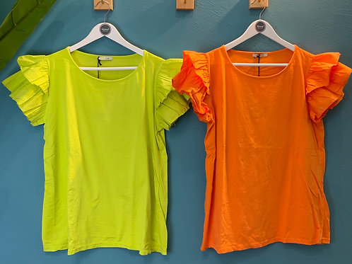 T-shirt con rouches - Susystar