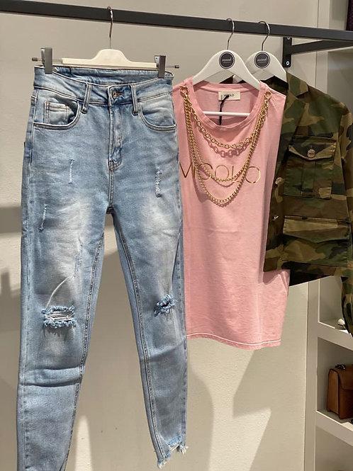 Jeans elasticizzato skinny n. 1