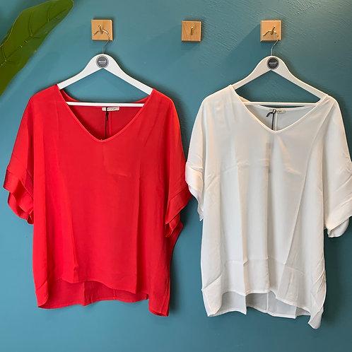 Blusa in crepe over Susystar -2 colori