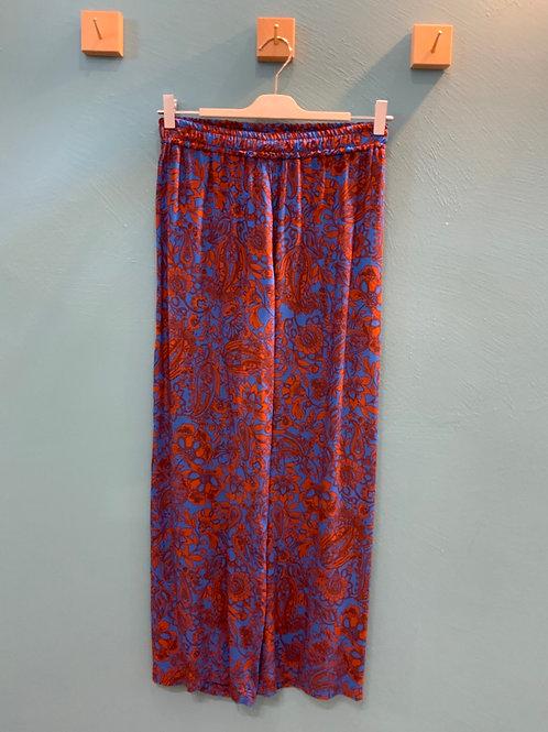 Pantalone Susymix fantasia blu