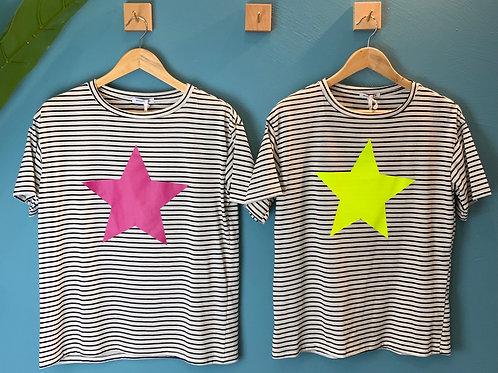 T-shirt over stella