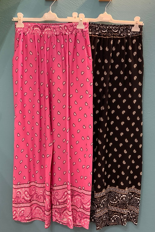 Pantaloni bandana -3 colori