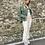 Thumbnail: Jeans sfrangiato - 3 colori