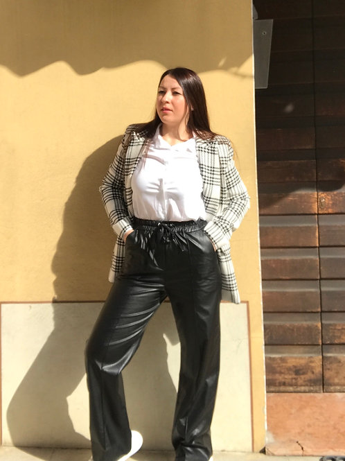 Pantaloni ecopelle IAm