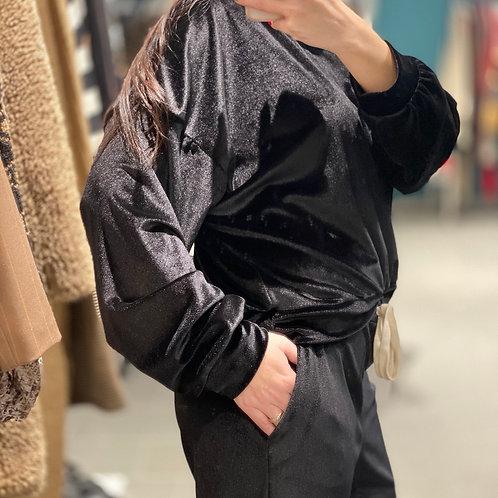 Felpa in velluto
