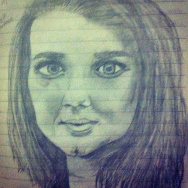 First Pencil drawing.jpg Me.jpg