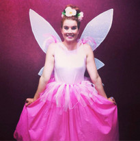 A handmade fairy costume