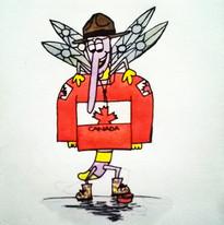 Marvin loves Ice Hockey! #Canada #Travel