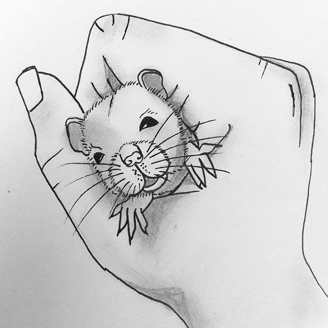 RIP Billie-Bob Thornton, my fancy rat #a