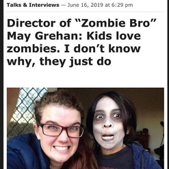 director did a Q&A about ZOMBIE BRO. How