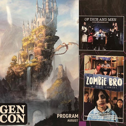 We found our poster in the Gen Con progr