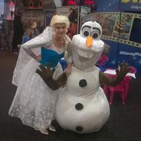Meet Elsa and Olaf