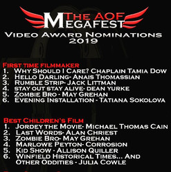 It's nice to be nominated for an award,