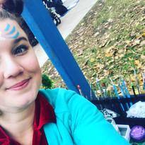 Faepainting for the Toronto Christmas Parade