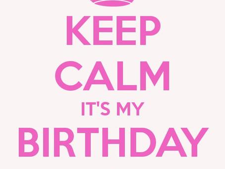 Happy Birthday to MAY!