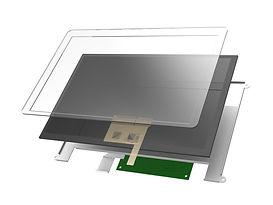 Capacitive Touchscreen USB Monitor Open Frame